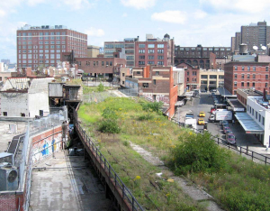 HIgh Line in New York before photo
