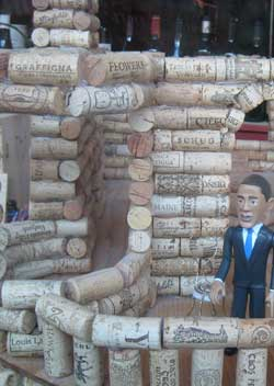 House made of cork