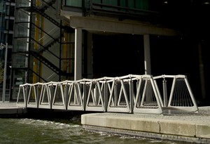 Rolling Bridge in England