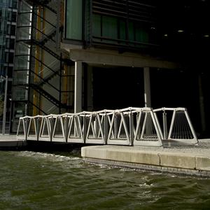 Rolling Bridge in England