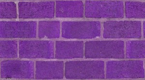 purple brick hotel